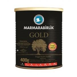 Marmarabirlik Gold Doğal Siyah Zeytin (Çok Tuzsuz) (400 GR XL)