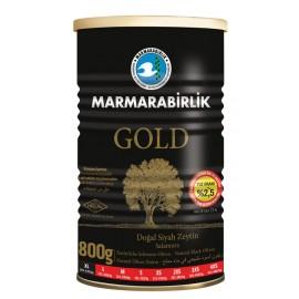 Marmarabirlik Gold Doğal Siyah Zeytin (Çok Tuzsuz) (800 GR XL)